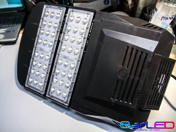 Lampa uliczna 230V 60W 48x1W 6000LM BIAŁA NATURALNA 4500K 150x75 stopni MEAN WELL; dioda 140LM/chip BRIDGELUX